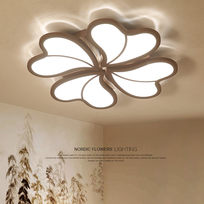 LED living room ceiling lights Novelty fixtures illumination Acrylic ceiling lamps home modern bedroom ceiling lighting