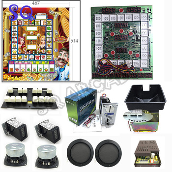 Super millionaire plus Mario Game Machine Kits / Mario Arcade Machine / slot game machine / Super mario millionaire plus фото