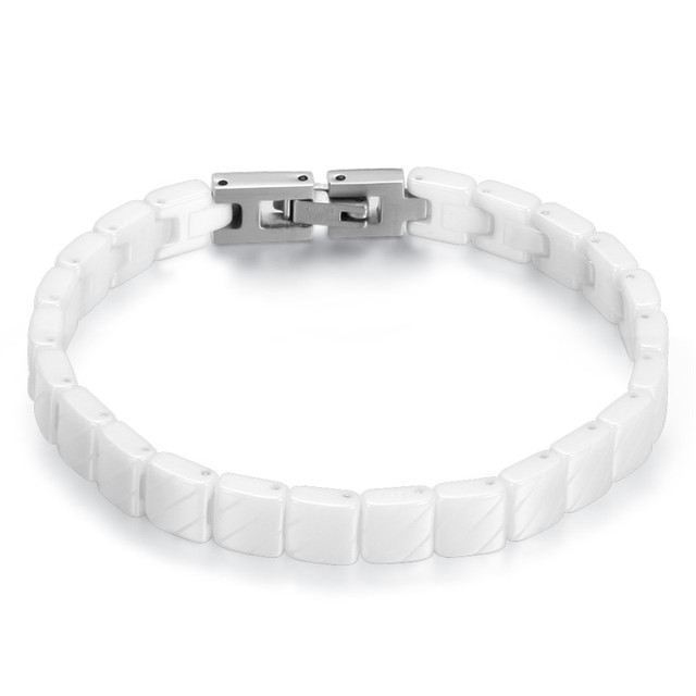 Men's Stainless Steel Toggle-Clasps Bracelet