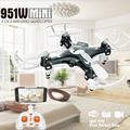 FQ777 951W WIFI Mini Pocket Drone FPV 4CH 6-axis Gyro Quadcopter with 30W HD Camera Smartphone Holder Transmitter RC Helicopter