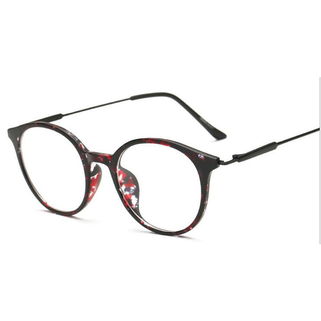 Classic style retro round optical frame fashion blowline glasses ...