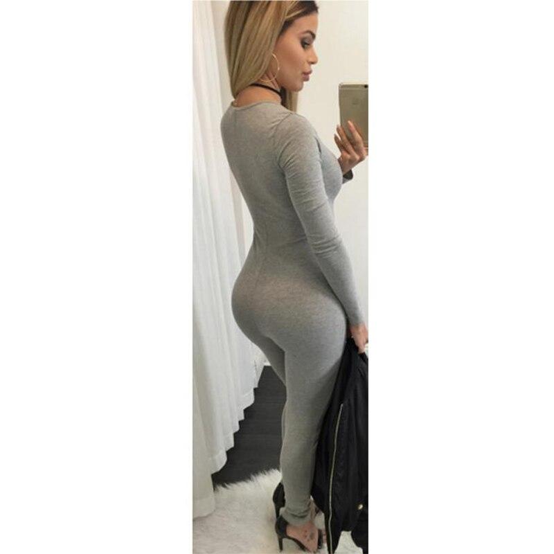 d1382da0fe4b Europa EUA mulheres novas calças pedaço explosão modelos macacão com zíper  lápis macacão Siamese bodysuit das mulheres vestuário vestidos LBD8230 em  ...