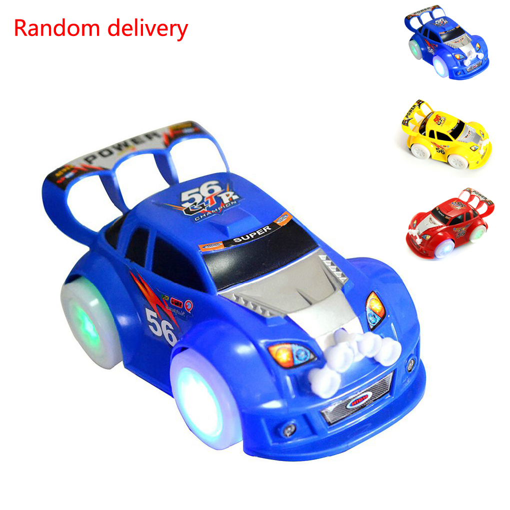 Magic Track LED Cars For Race Track Electronics Car Toys With Flashing Lights Racing Cars Toys For Children Gift Children Toys