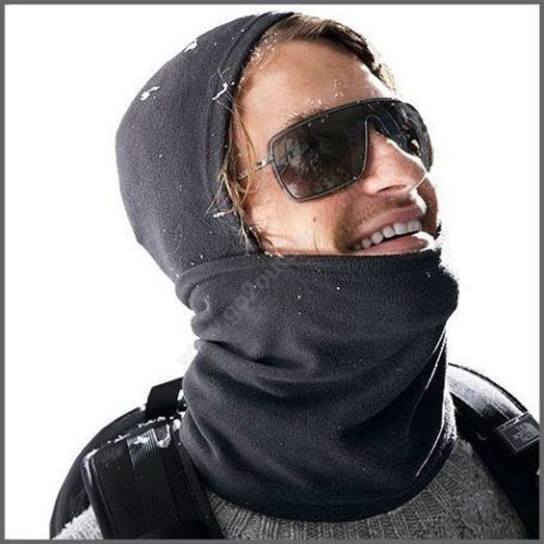 Full Cover Face Mask Thermal Fleece Balaclava Ski Bike Winter Wind Stopper Out Door Sports Neck Helmet Hat Cap CS Hats