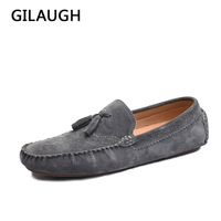 High Quality Handmade 100 Leather Men Tassels Loafers Soft And Cozy Men Flats Casual Mens Driving