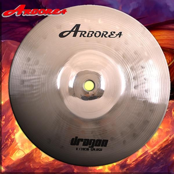 Arborea Handmade Cymbal Dragon series 8 splash handmade b20 cymbal dragon 16 o zone cymbal