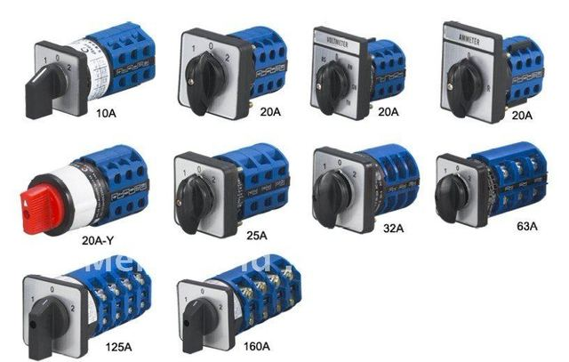Manual Transfer Switch  Manual Changeover Switches  Manual