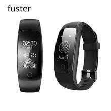Fuster ID107 Плюс Фитнес Bluetooth Смарт Браслет Activity Sports Tracker Браслет с Сердечного Ритма Диапазона для Android и iPhone