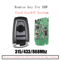 315/433/868Mhz Smart Remote Key Keyless Fob For BMW F CAS4 3 5 7 Series F01 F02 F03 F04 F11 F07 F10 F30 KR55WK49863 CAS4 System