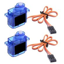 2Pcs/set 9G SG90 Micro Mini Servo For RC Robot Helicopter Airplane Car Boat t 2019 Hot Sale Part