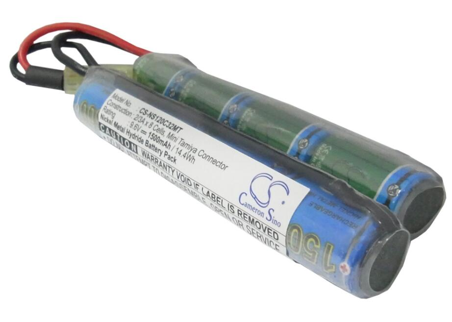 Punctual Cameron Sino 1500mah Battery For Airsoft Guns Augm Augrt Car15 Fnp90 G36 G36c G3a4 M4a1 M4a1-ris Mc51 Mp5a5 Steyr Commodities Are Available Without Restriction Mobile Phone Parts