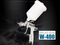 HVLP воздуха Пистолеты распылители w 400 142g 1.4 мм самотеком Авто Краски автомобиля Праймеры с 600cc чашки w400 Пистолеты распылители