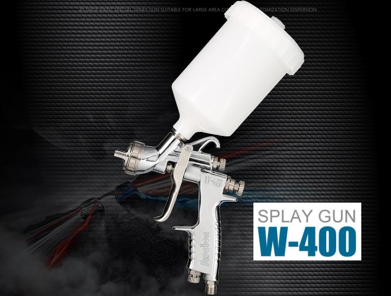 HVLP Air Spray Gun W-400-142G  1.4MM Gravity feed Auto Paint Car Primer with 600cc cup W400 spray gun