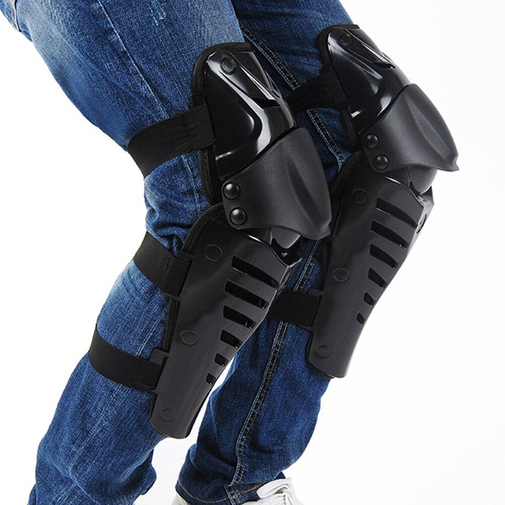 1 paire Genou Shin Gardes Protecteur Accolades Adulte Protecteur Genouillères Brace ATV Motocross MX Dirt Bike Vélo Soutien Attentif Pad