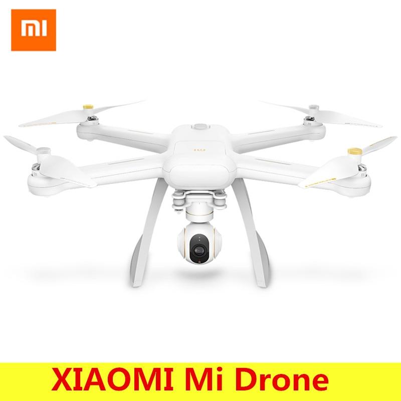 Originais XIAOMI Mi WI-FI FPV Zangão Com 4 K 30fps Camera 3-Axis Gimbal RC Quadcopter RTF Com dongle USB