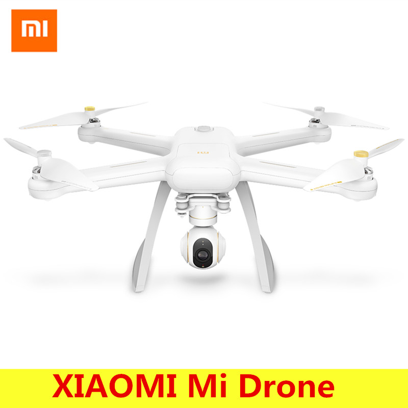 Original xiaomi mi drone WiFi FPV con 4 K 30fps Cámara 3 eje Gimbal RC quadcopter RTF con USB dongle