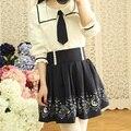 2016 verão a line saias anime sailor moon meninas saias mulher roupas de uma peça vestidos kawaii faldas mujer gótico bonito
