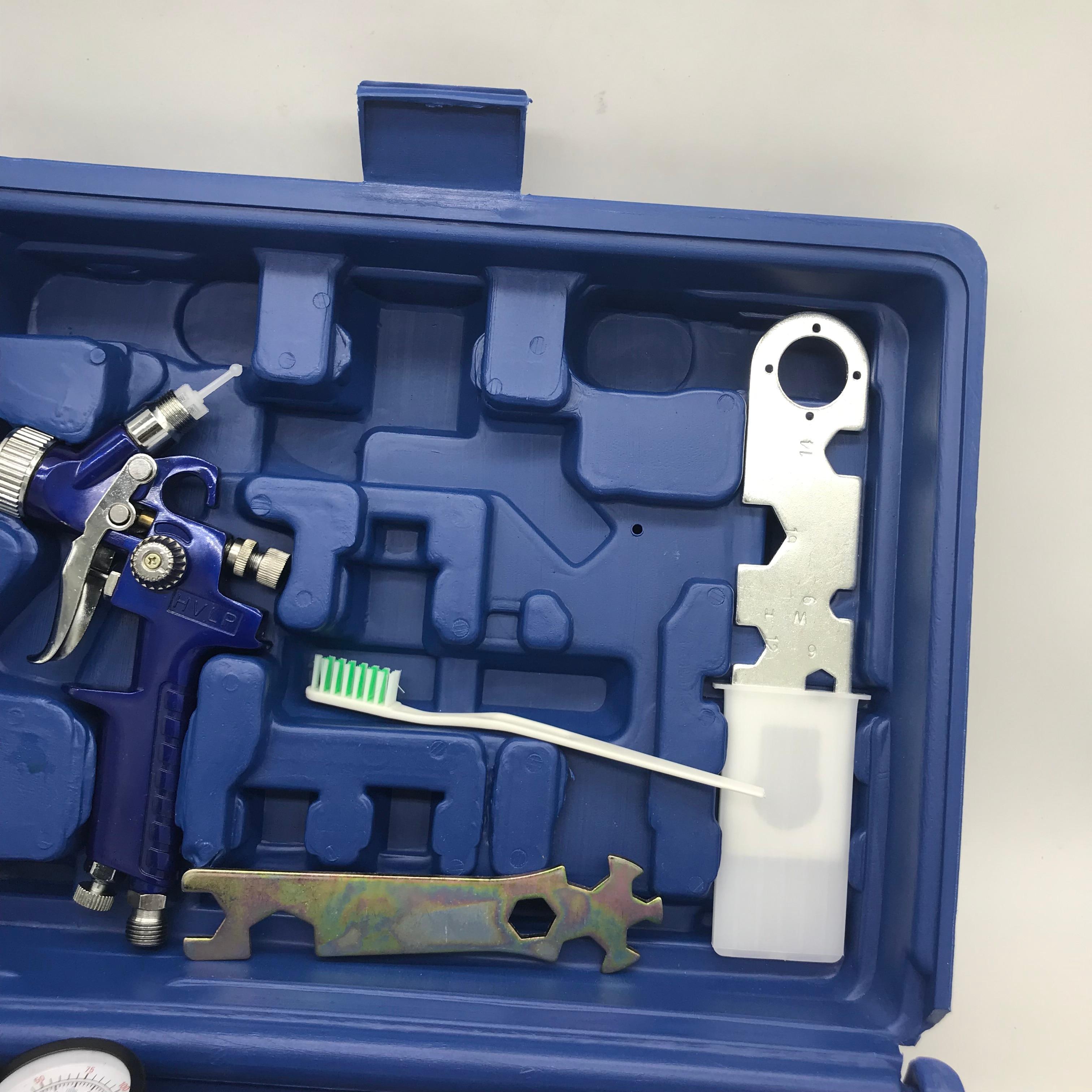 Tools : H827   H2000 spray paint gun with box Airbrush airless spray gun for painting cars Pneumatic tool 1 0 1 4mm