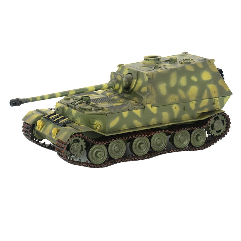 1:72 scale pre-built Elefant heavy Jagdpanzer tank destroyer World War II hobby collectible finished plastic model image