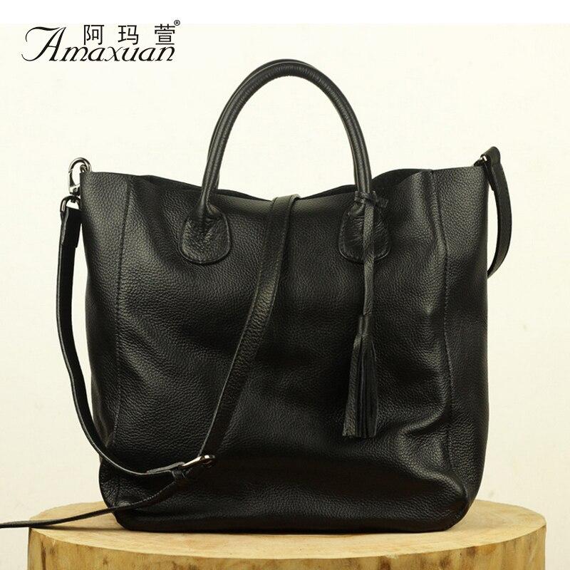 ФОТО Women Handbags Soft Solid New 2016 Shoulder Bags Fashion Casual Tote Tassel Luxurious Crossbody Bags Bolas Feminina BH1230