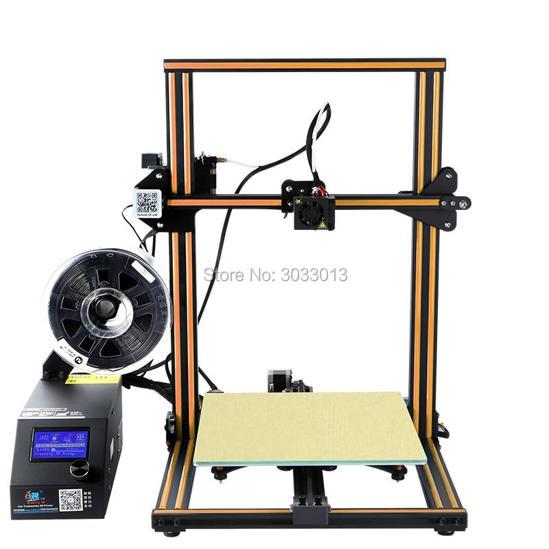 CR 10S 3D printer Kit Dual Z Rod Filaments Monitoring Alarm power failure printer 3D 200g