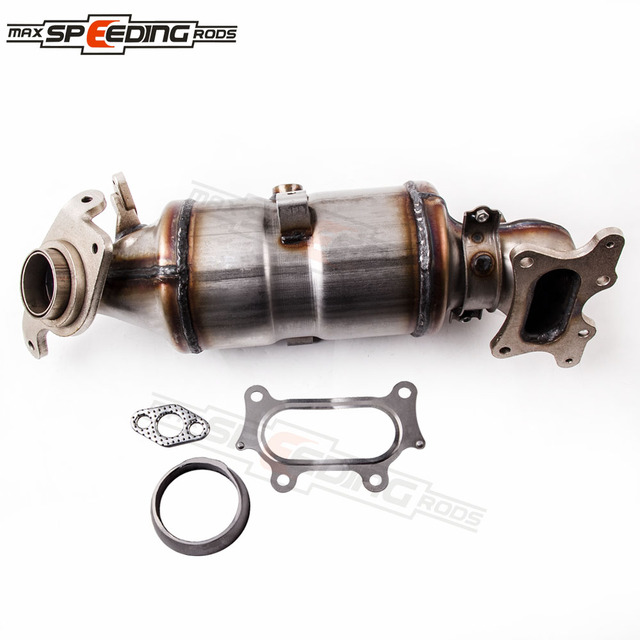 Stainless Exhaust Manifold Catalytic Converter For Honda Civic Dx Ex Lx 1 8l 2006