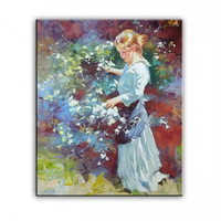 Oil Painting World Famous Art European And American Style Of Famous Painter Pure Manual Home Decoration