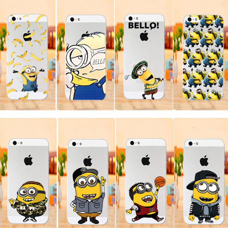 Cute Millions Cartoon Despicable Case for Apple iPhone 6s