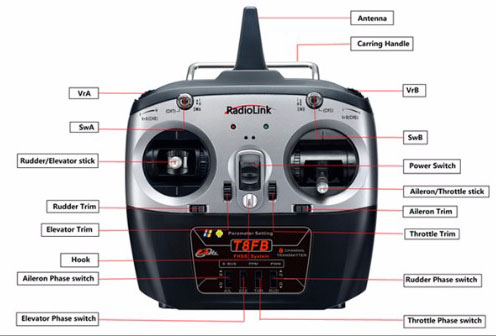 2.4G 8CH F450 RC Hexacopter Airplane RTF Unassemble DIY Quadcopter FPV Upgrade with Radiolink Mini PIX M8N GPS Altitude Hold