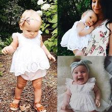 Girls Infant Dress Romper Jumpsuit Bodysuit Outfits