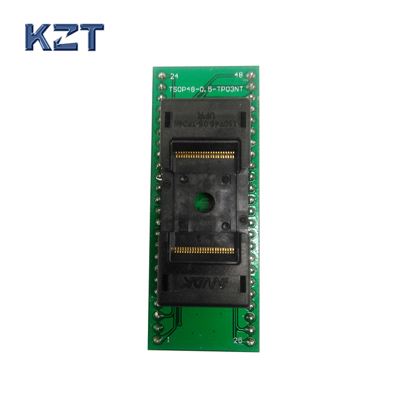 ANDK High Quality Long TSOP48-0.5 Open Top Structure Burn in Socket IC Test Socket Flash Test Socket Adapter tnm5000 programmer acticoat burn dressing acticoat burn drs 4x4 in 1 case 48 each