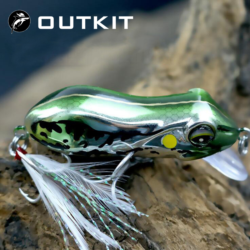 2020 NEW Frog Lure 5.5cm 10g For Fishing Lures Wobblers Pesca Isca Artificial Hard Bait Crankbait Minnow Trout River Stream Bass|Fishing Lures|   - AliExpress