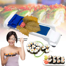 Kichen Tool Sushi Maker Leaf Roll Rolling Machine Plastic Grape/Cabbage Food Diy Kitchen Rice Mold Gadget Roller