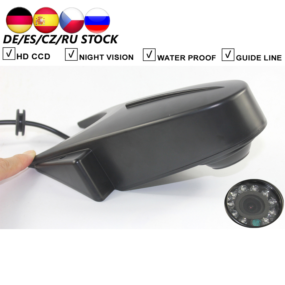 Car Rear View Backup Reverse Camera For Mercedes Benz W906 Sprinter Vito VW Crafter Parking Reversing Camera Infrared 10PCS IR