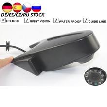 цена на Car Rear View Backup Reverse Camera For Mercedes Benz W906 Sprinter Vito VW Crafter Parking Reversing Camera Infrared Lights