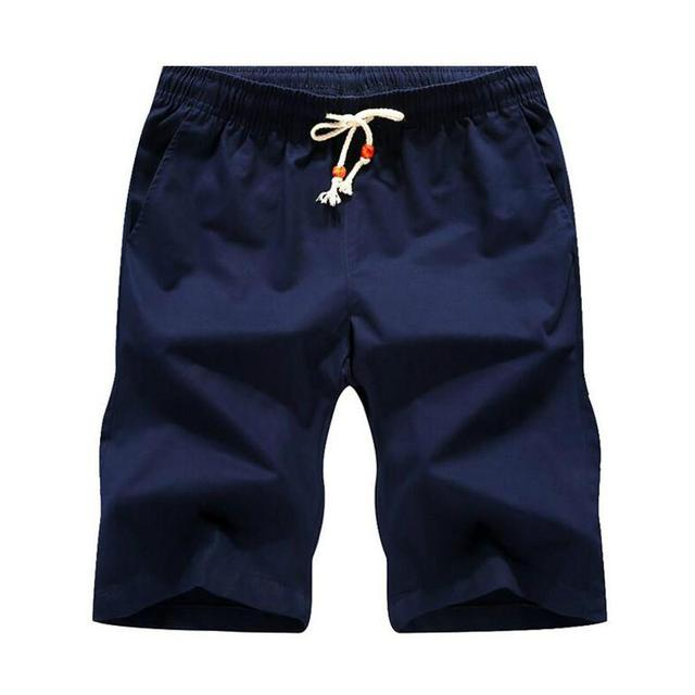 ¡Novedad de 2020! Pantalones cortos informales de algodón para hombre, pantalones cortos de estilo Bermuda para la playa, tallas grandes 4XL 5XL para hombre