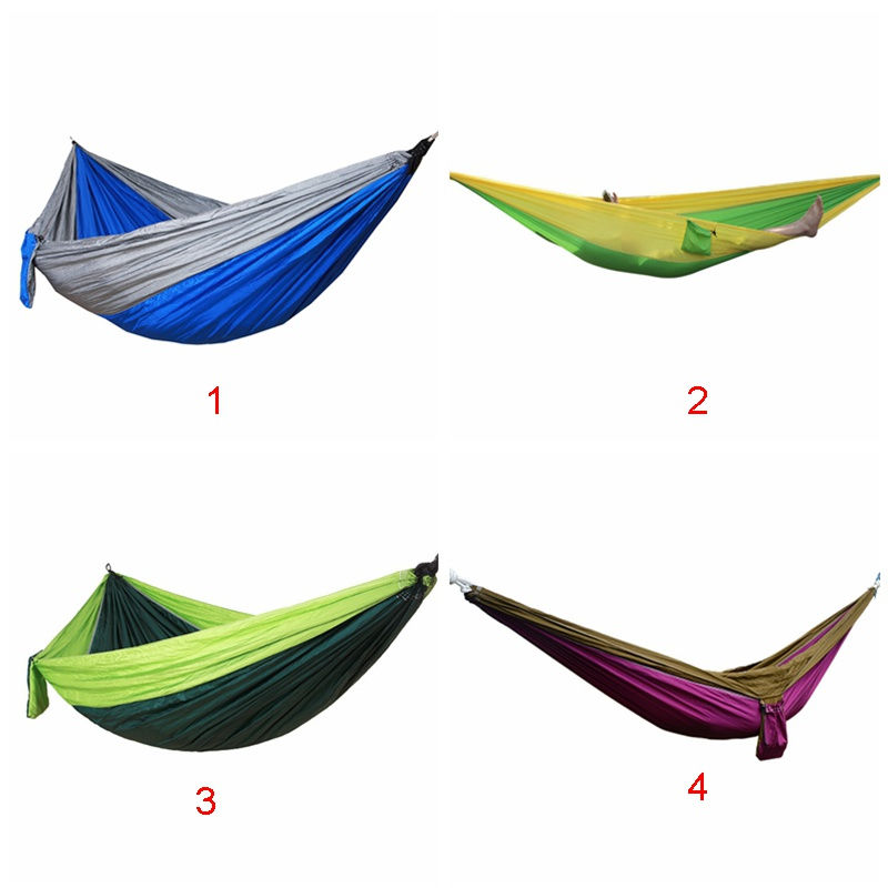 Outdoor Double Hammock Portable Hammock Oversized Nylon Rotating Hammock 2.7 1.4 M Hanging Garden Hammock Catalogues Will Be Sent Upon Request Camping & Hiking