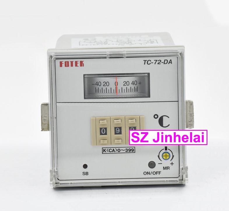 TC72-DA-R3  New and original FOTEK  Pointer temperature controller  TC-72-DA total fluide da в перми