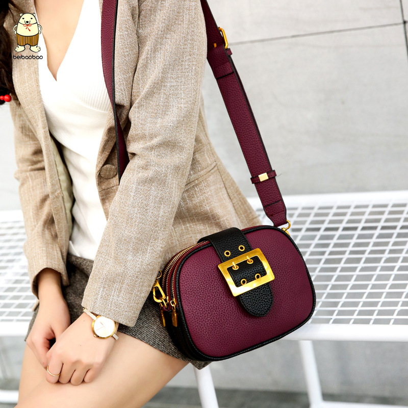 Women Multilayer Shoulder Bags Women PU Leather Small Bag 2018 New Retro Shell Crossbody Bags Girl Casual Shoulder Bag women multilayer shoulder bags women pu leather small bag 2018 new retro shell crossbody bags girl casual shoulder bag