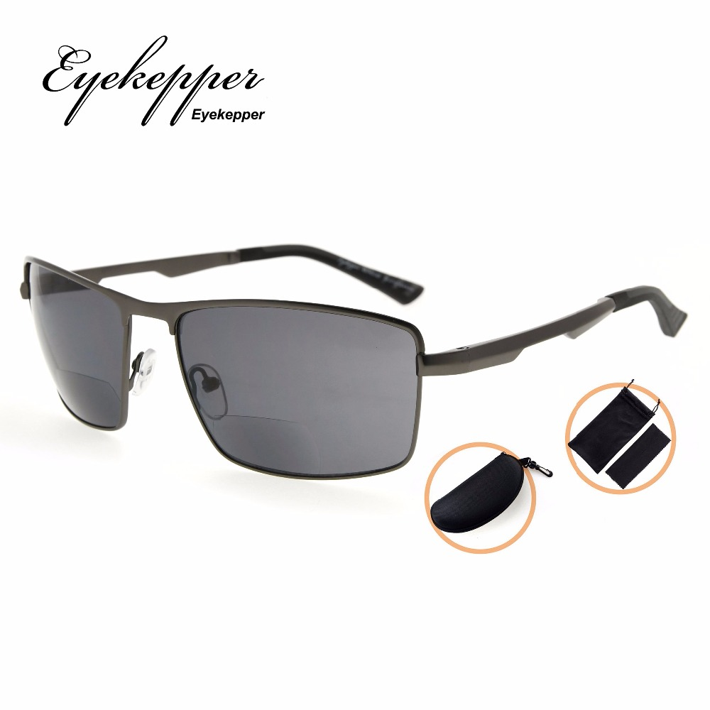 60fa4bad21 PGSG802 Eyekepper Polycarbonate Polarized Bifocal Sunglasses Bifocal Sun  Readers Outdoor Polarised Reading Glasses +1.50~+2.50-in Reading Glasses  from ...
