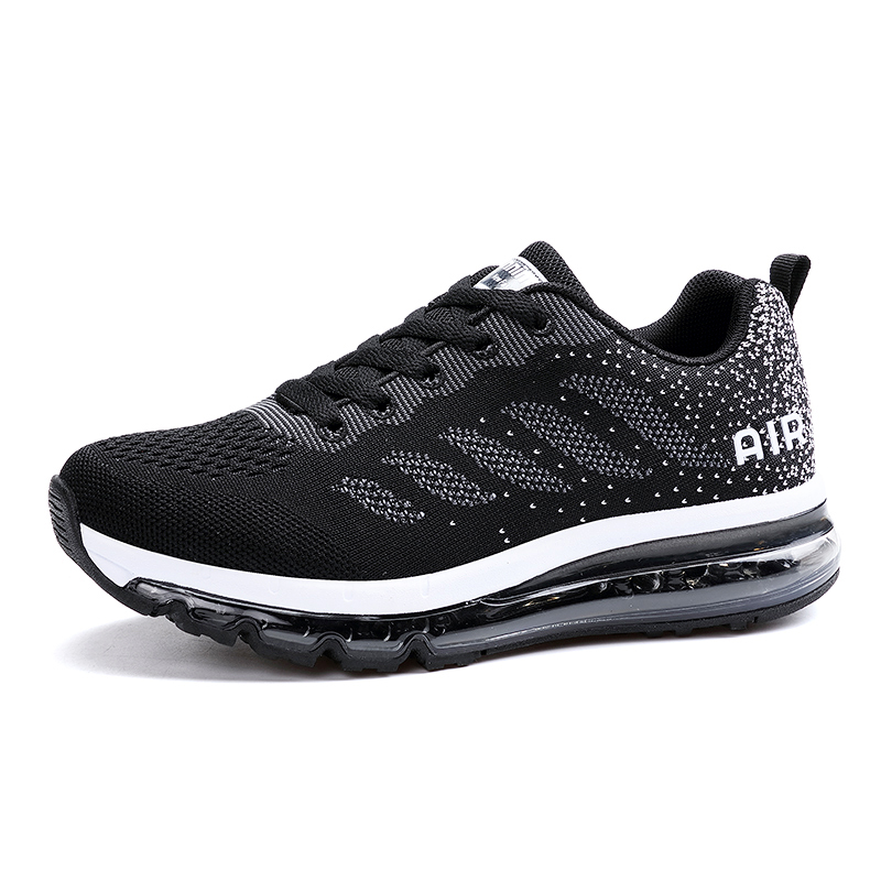 Top Quality Cushion Running Shoes for Women Breathable Mesh Sport Shoes Men Knit Sneakers Sport Woman Outdoor Athletic Shoes camel shoes 2016 women outdoor running shoes new design sport shoes a61397620