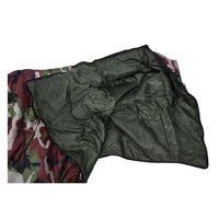 3 Temporada Solo Caso Traje Adulto Impermeable de Excursión Que Acampa Saco de Dormir Del Sobre Color: camuflaje verde Militar