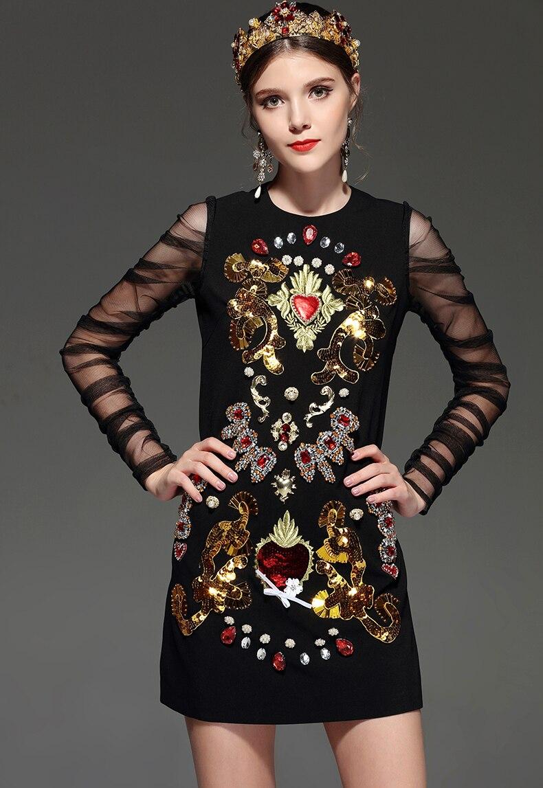 20f5fd209aa Dropwow LD LINDA DELLA New 2018 Designer Runway Dress Women s Lace ...