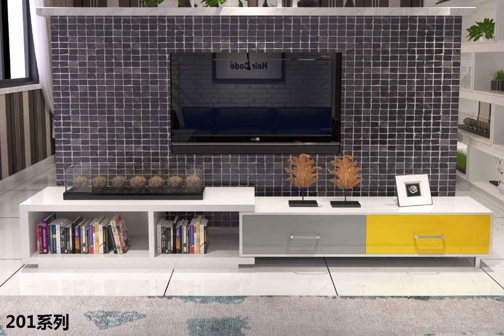 0510201 Minimalist Modern living room furniture set mutifunction free combination coffee tea table Flexible TV stand cabinet furniture parlor marble combination wood adjustable tv cabinet coffee table