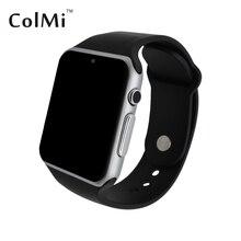ColMi VS20 Plus MTK2502C Apoyo Reloj Inteligente Tarjeta Sim IOS Android Bluetooth Del Ritmo Cardíaco Conexion Apple Samsung Teléfono Smartwatch