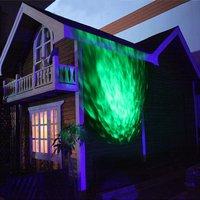 نجمة ضوء تموج تأثير ضوء العارض التحكم عن ضوء الديكور لل خارج أو داخل منزلك للعطلات