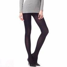 THREEGUN 1PC Sexy Beauty Pantyhose Women Girl Autumn 50D 80D 120D Tights Sexy Leg Warmers Solid