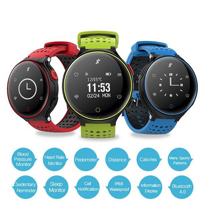 Pulsometer Männer Uhren Blutdruck Smart Band Fitness Tracker Smart Armband Armband Schrittzähler Pulse Monitor Smartwatch
