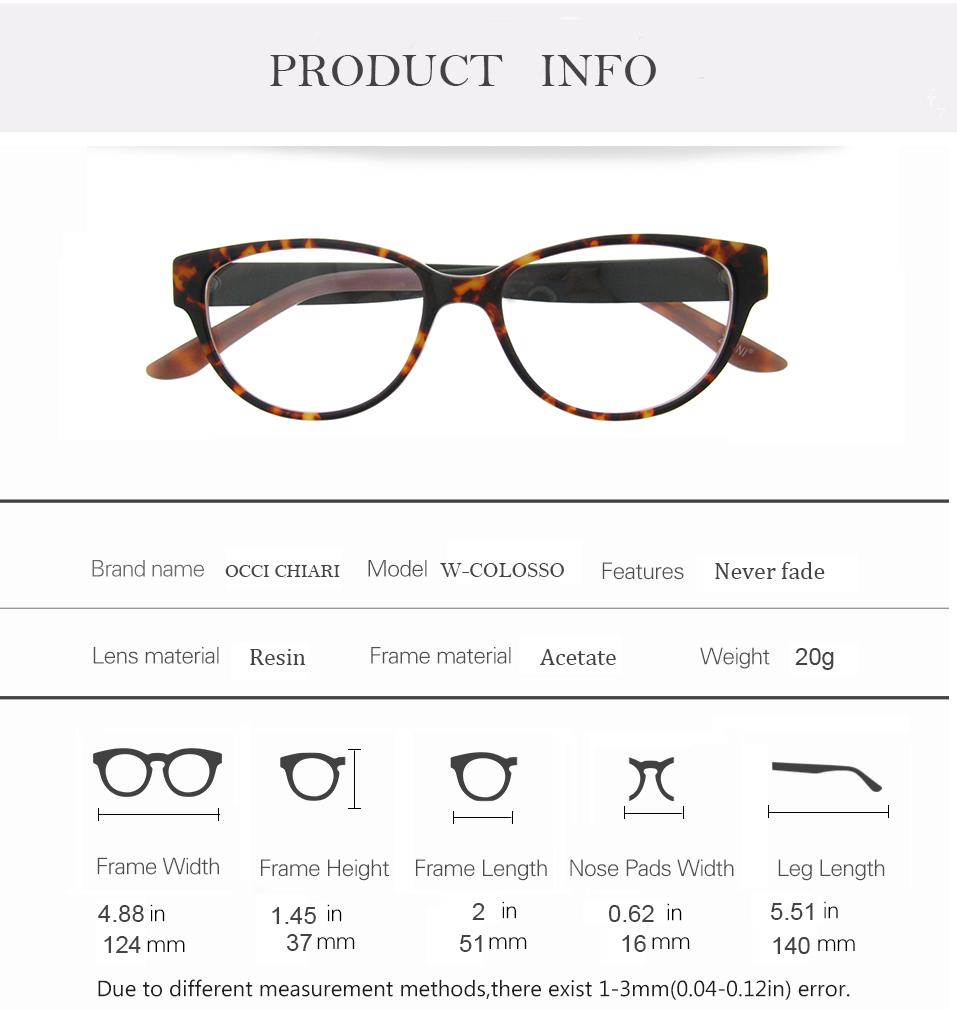 71298f3d5399 2019 OCCI CHIARI Optical Eyewear Optical Eyeglasses Women ...