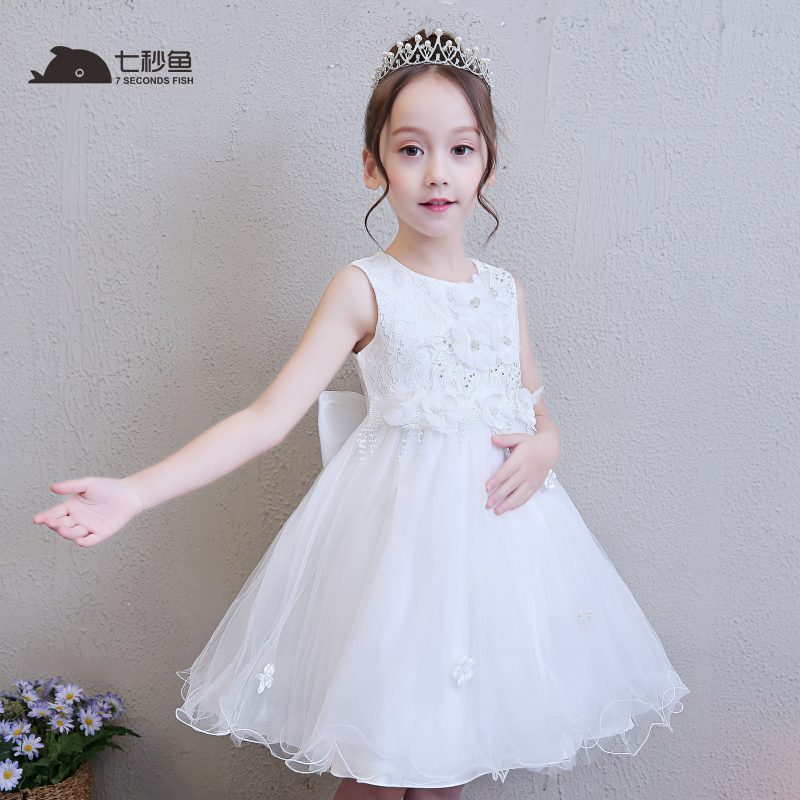 girls dress 2018 summer kids dresses for girls princess evening dress white elegant vestidos baby girl summer clothes robe fille elegant embroidery floral baby girls dress party princess dress girl new summer kids dresses for girls clothes vestidos infantil